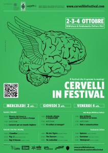 Locandina Cervellli in Festival