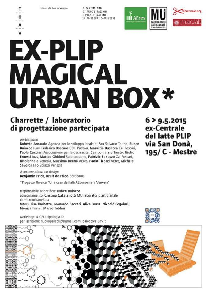 Charrette EX-PLIP magical urban box co plip