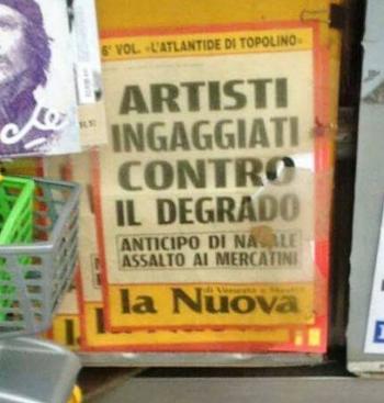 artisti contro il degrado